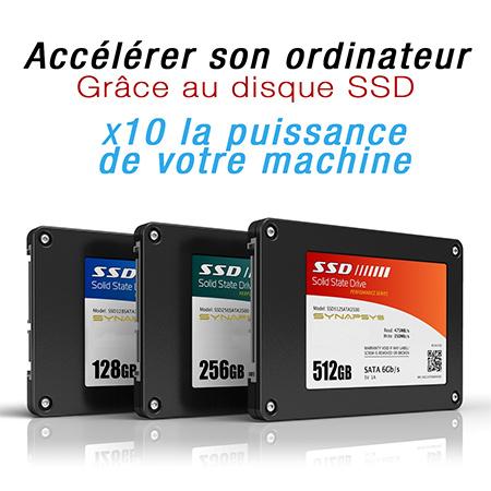 Accélérer son ordinateur : Grâce au disque SSD
