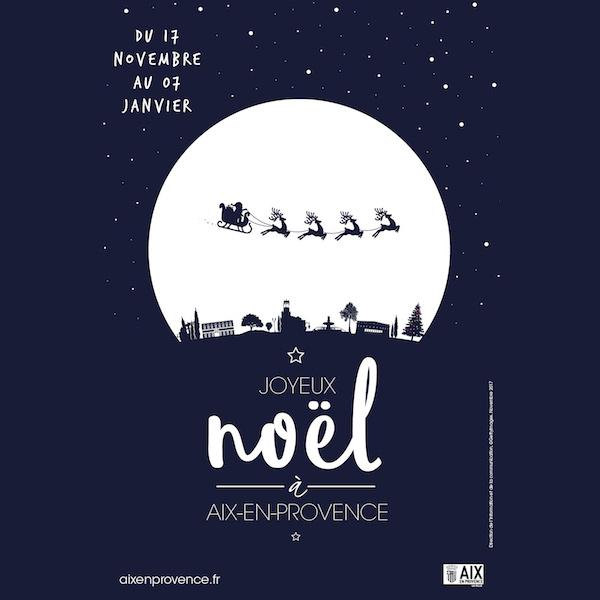 Noël à Aix en Provence de décembre à janvier